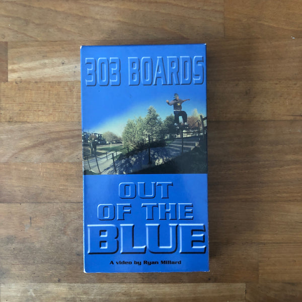 303 Boards Out Of the Blue VHS