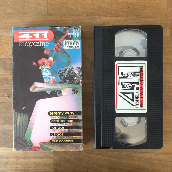 411VM #1 PREMIERE ISSUE - VHS