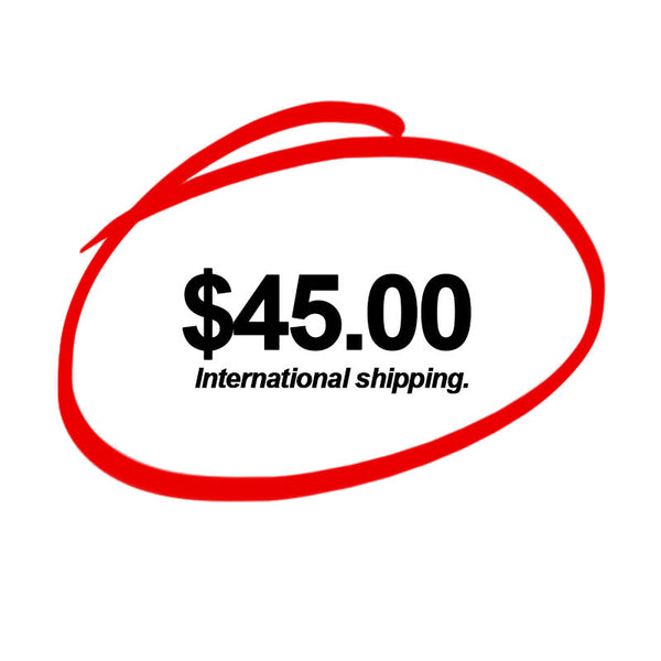 International Shipping <br> (Priority Mail / 6 to 10 days)