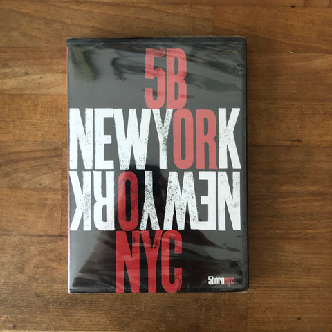 "5Boro ""New York, New York"" DVD - NEW IN BOX"