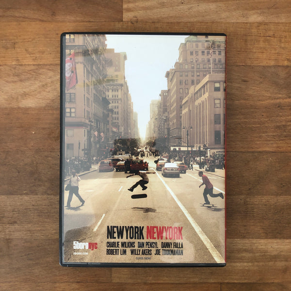 "5Boro ""New York, New York"" DVD"