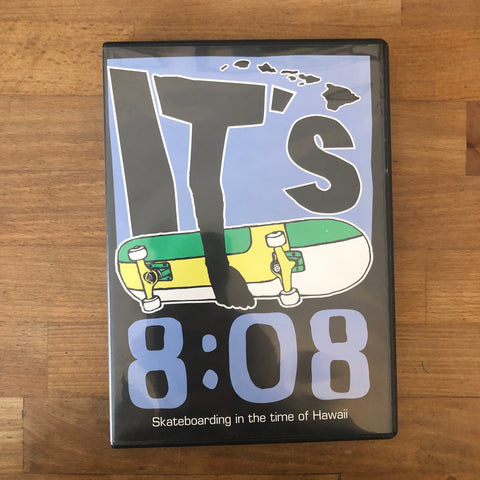 It's 8:08 DVD - Hawaii Rep!