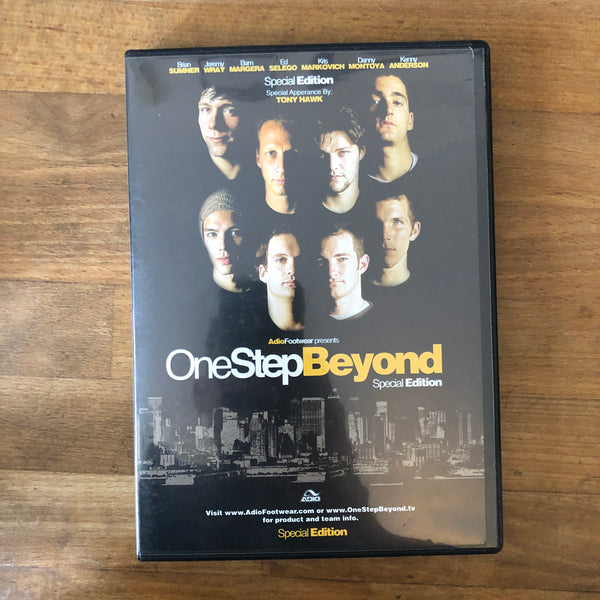 Adio One Step Beyond DVD