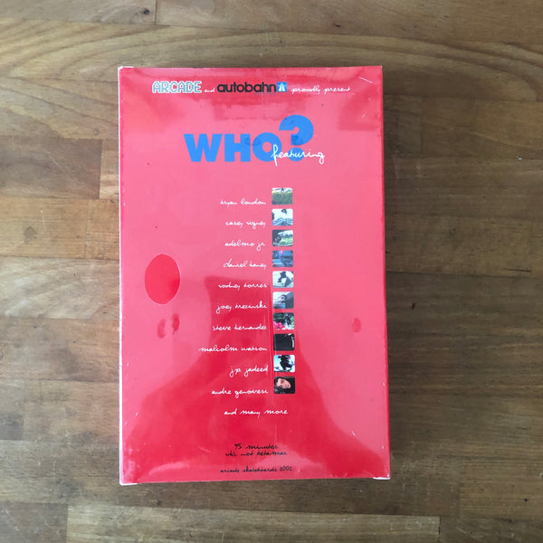 "Arcade ""Who"" VHS - NEW IN BOX"