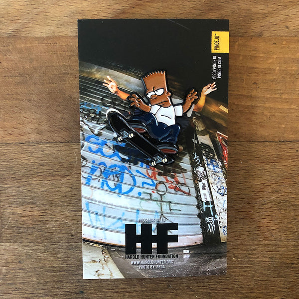 Harold Hunter Enamel Pin