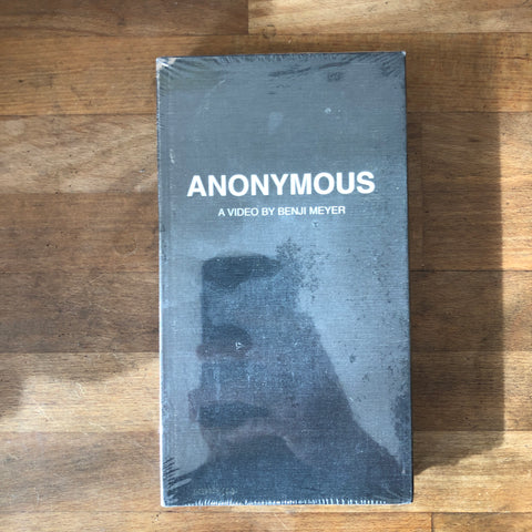 "Benji Meyer ""Anonymous"" VHS - NEW IN BOX"