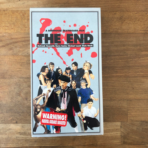 Birdhouse Projects The End VHS - CLASSIC