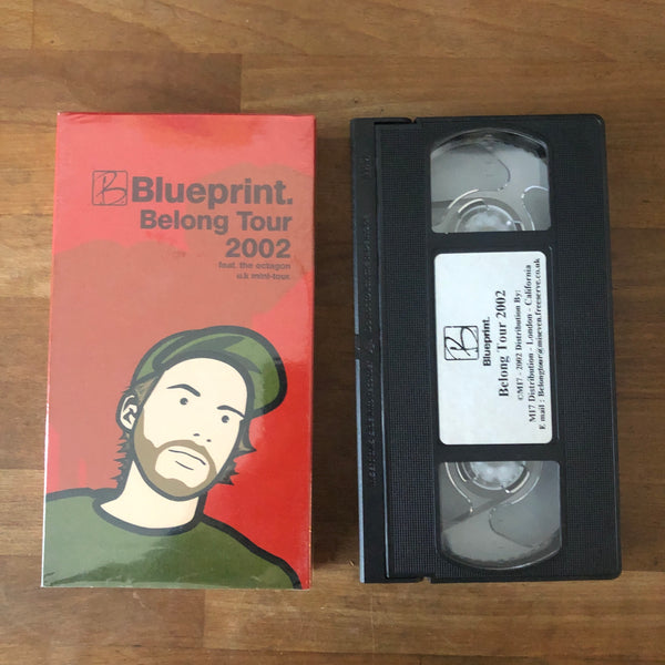 Blueprint Skateboards Belong Tour VHS - SUPER RARE!!