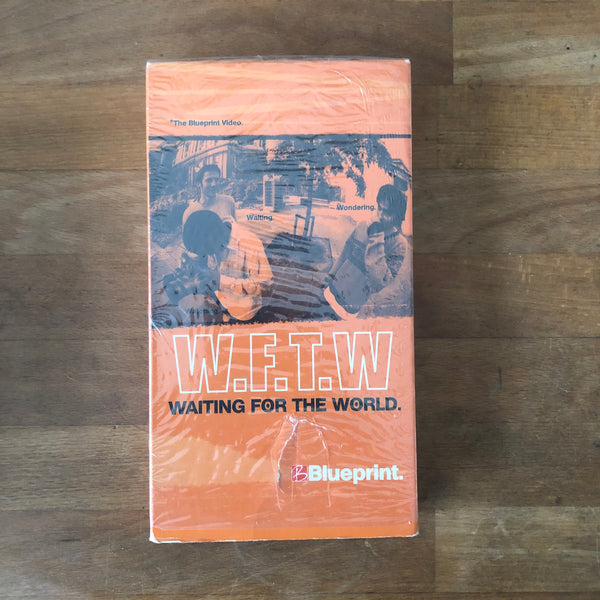 Blueprint Skateboards Waiting For The World VHS INSANELY RARE!!