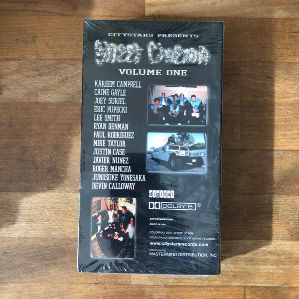"City Stars ""Street Cinema"" VHS - NEW IN BOX"