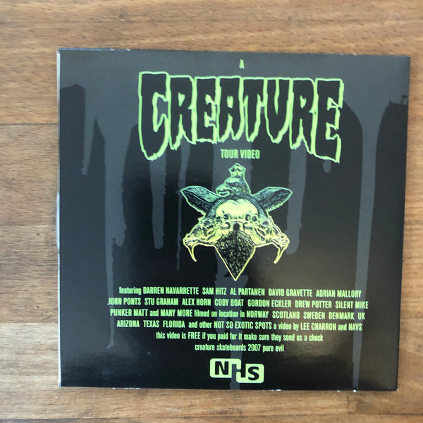 Creature Black Metal DVD