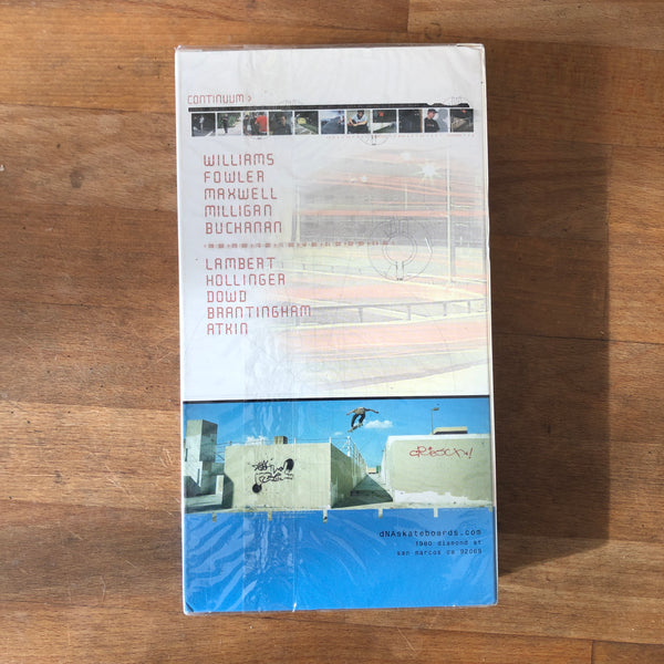 "DNA ""Continuum"" VHS - NEW IN BOX"