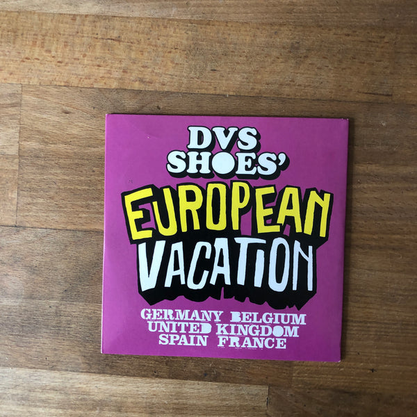 DVS European Vacation DVD