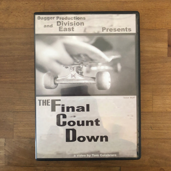 Final Countdown DVD - Tombo Colabraro Film