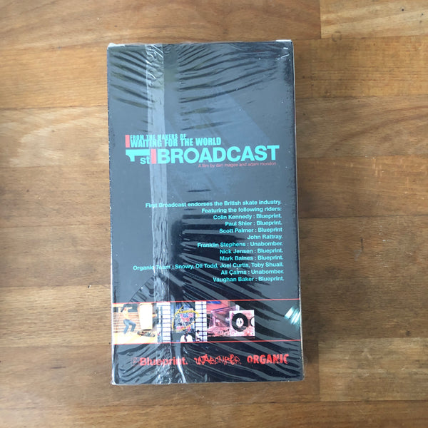 Blueprint Skateboards First Broadcast VHS