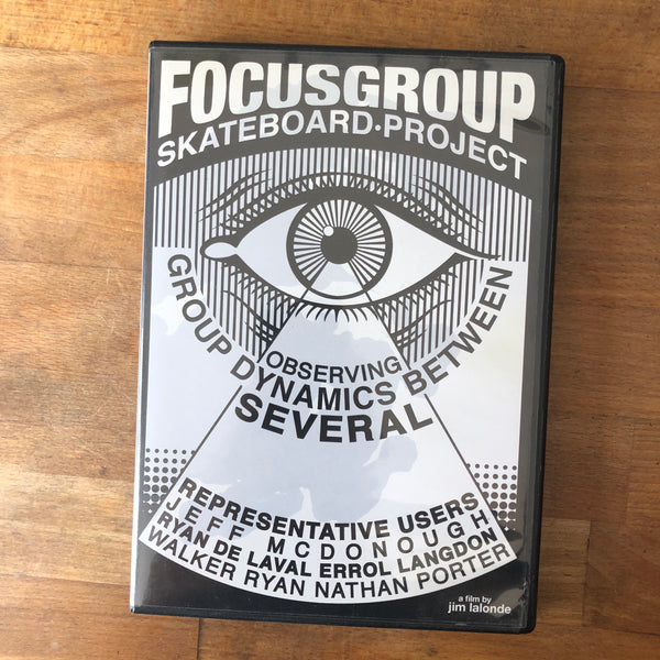 Focus Group Skateboard Project DVD - Walker Ryan Part