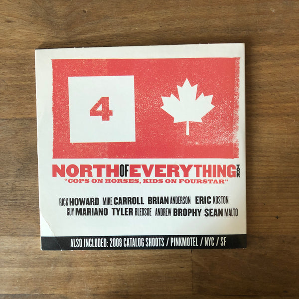 Fourstar North of Everything / Tribe Called MapQuest DVD
