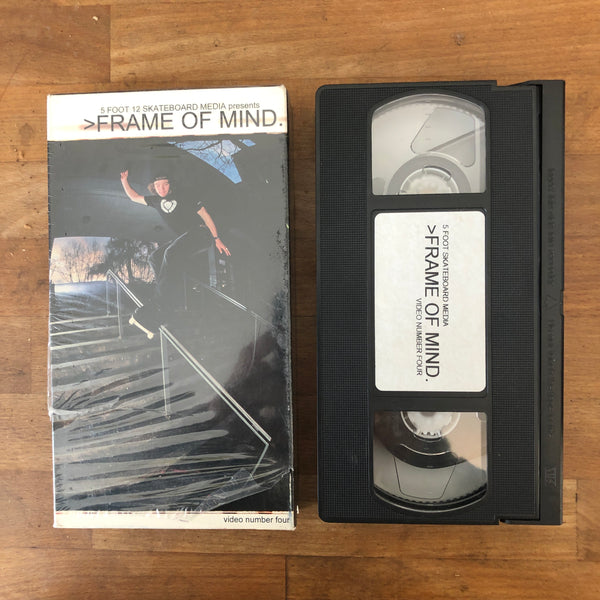 5 foot 12 VM - Frame of Mind VHS - CANADA REP!