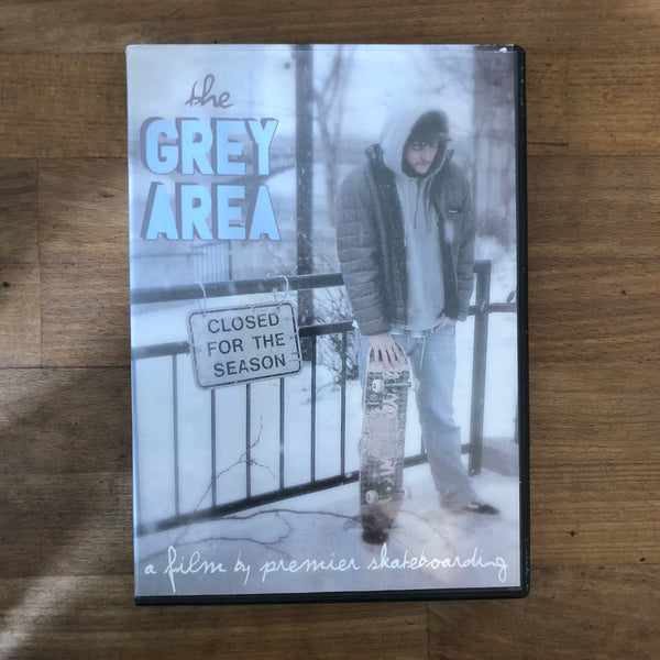 Grey Area DVD