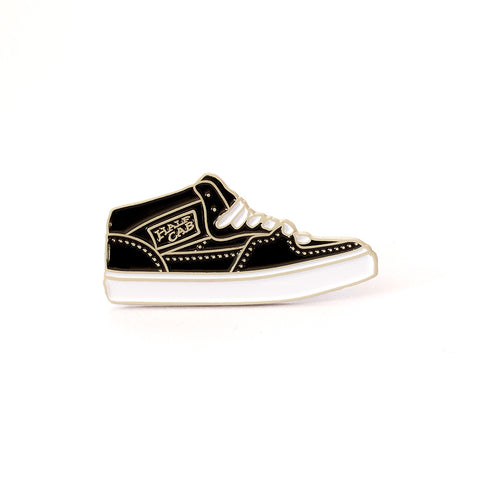 The Half Cab Enamel Pin in Black