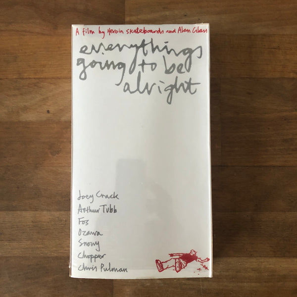 Heroin Everything's Going to be Alright - VHS RARE 2002