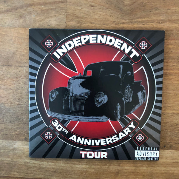 30th Anniversry Tour Independent Trucks DVD