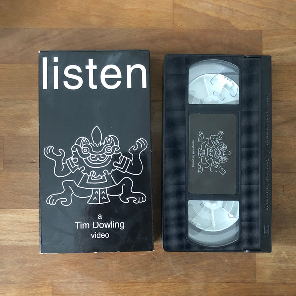 Listen VHS - UNGODLY RARE!!!