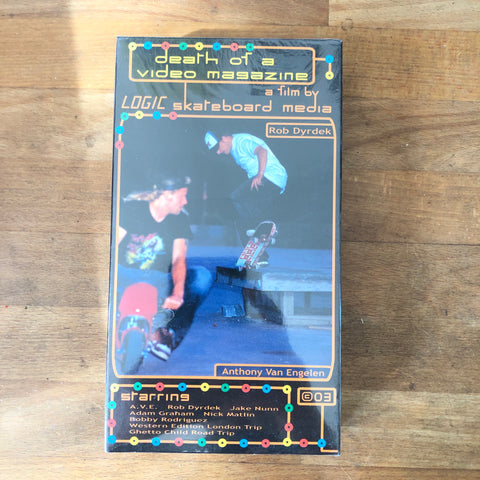 "Logic ""Death of a Video Magazine"" VHS - NEW IN BOX"