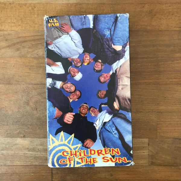 New Deal Children of the Sun VHS - SUPER RARE