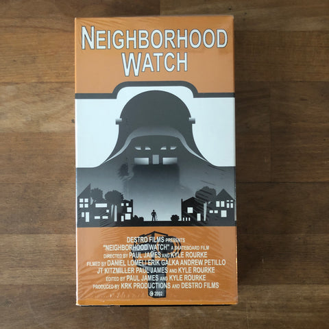 """Neighborhood Watch"" VHS"