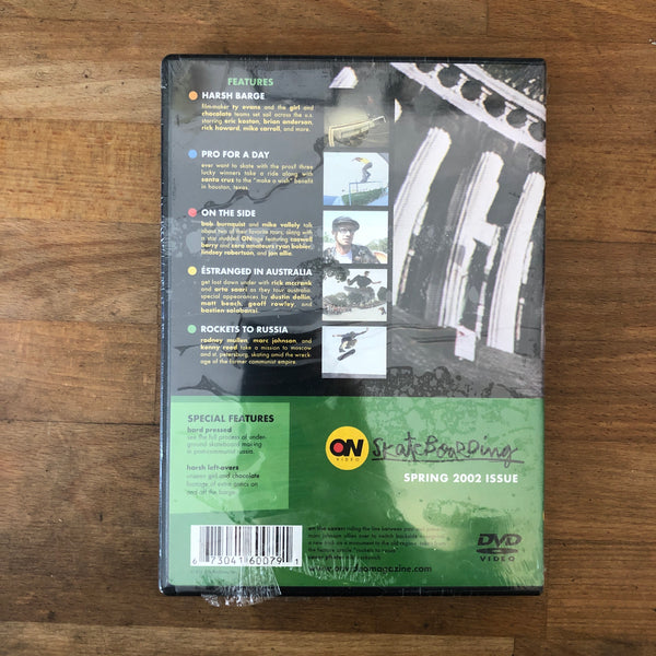 On Video Spring 2002 DVD - NEW IN BOX
