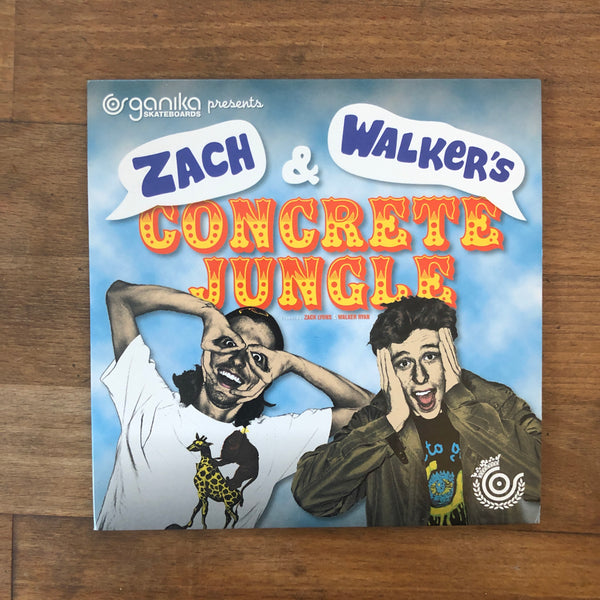 Organika Concrete Jungle DVD Walker Ryan Zack Lyons