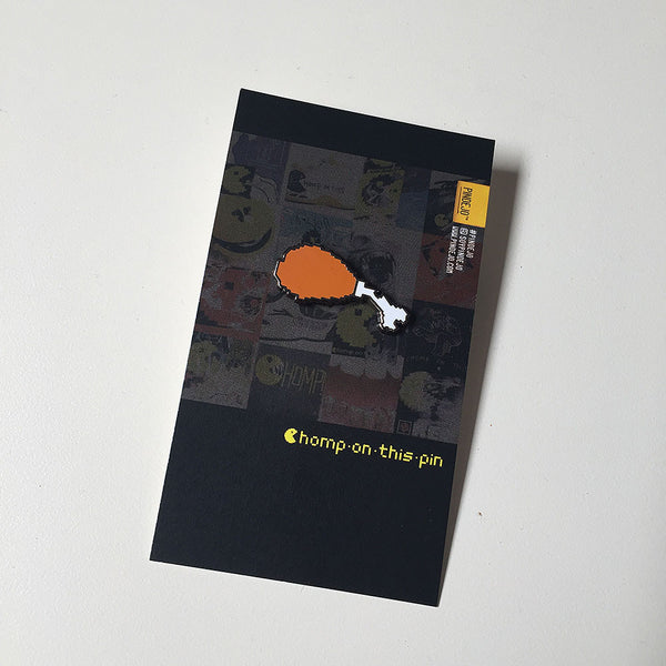 Chomp On This - FAT BOY pin