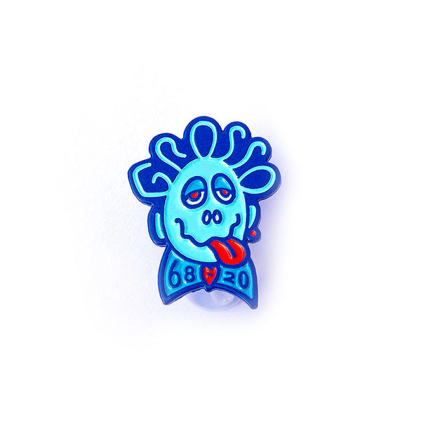 Jeff Grosso Forever Enamel Pin