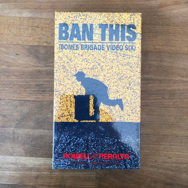 Powell Peralta Ban This VHS - NEW IN BOX