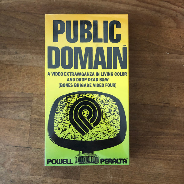 Powell Peralta Public Domain VHS - NEW IN BOX