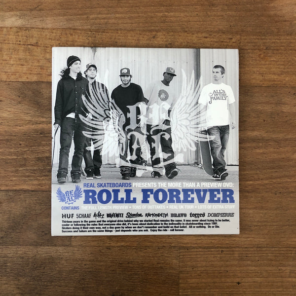Real Roll Forever DVD