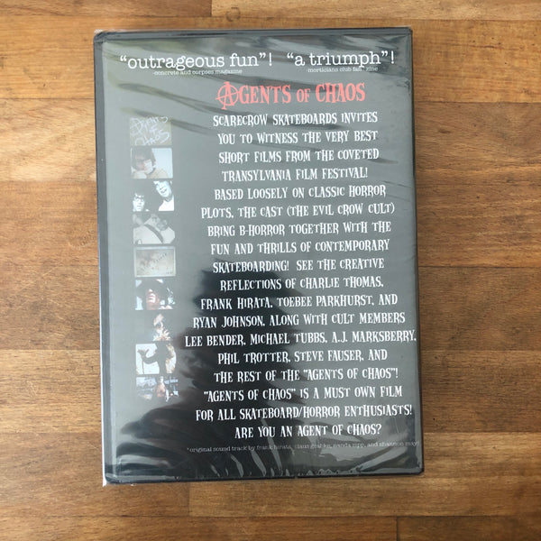 "Scarecrow ""Agents of Chaos"" DVD - NEW IN BOX"