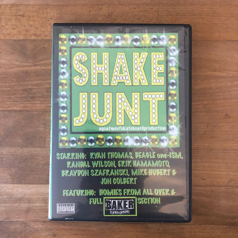The Shake Junt Video DVD - ORIGINAL FIRST VIDEO