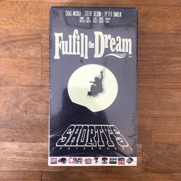 Shorty's Fullfill The Dream VHS - INSANE CLASSIC