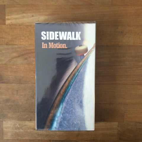 Sidewalk Magazine In Motion VHS
