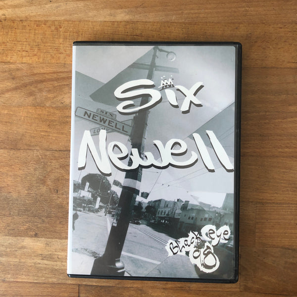 Six Newell DVD - SF House Classic!! - CHECK HIM OUT WRITING