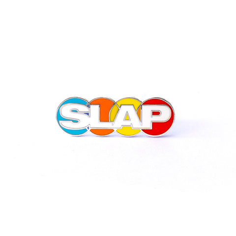 Slap Magazine Enamel Pin by Pindejo