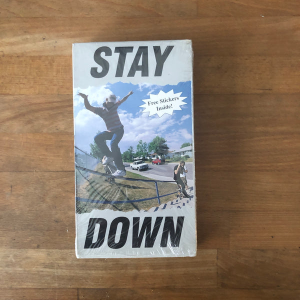 Stay Down VHS