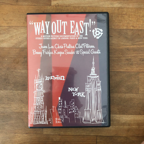 "Stereo ""Way Out East"" DVD"