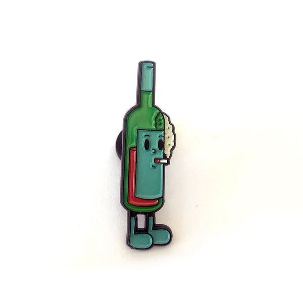Green Smoking Wino by Andrew Pommier