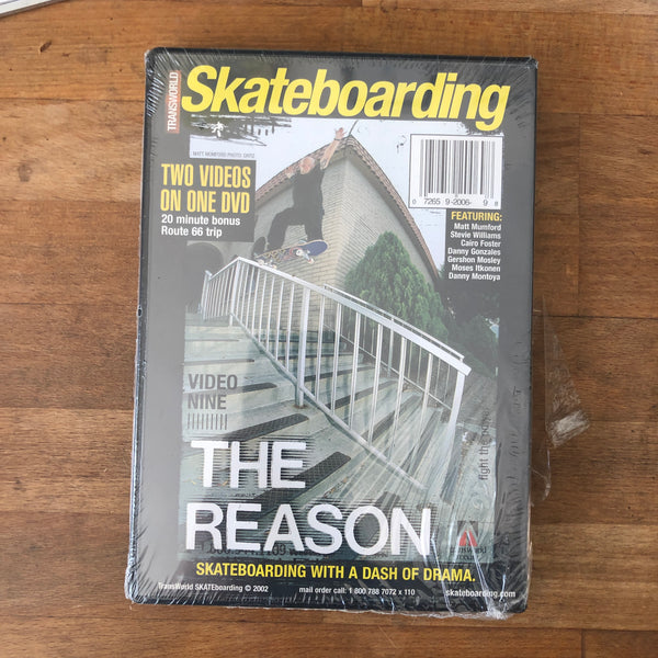 Transworld Feedback / Reason DVD