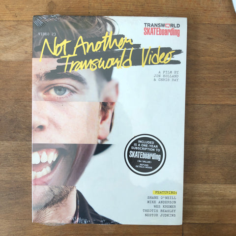 Transworld Not Another Transworld Video DVD - NEW IN BOX