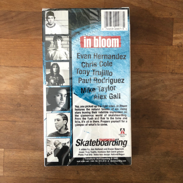 "Transworld ""In Bloom"" VHS - NEW IN BOX"