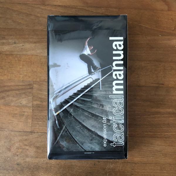 Tactical Manual VHS - NEW IN BOX